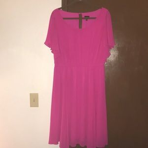 Torrid 1X magenta plus size Dress